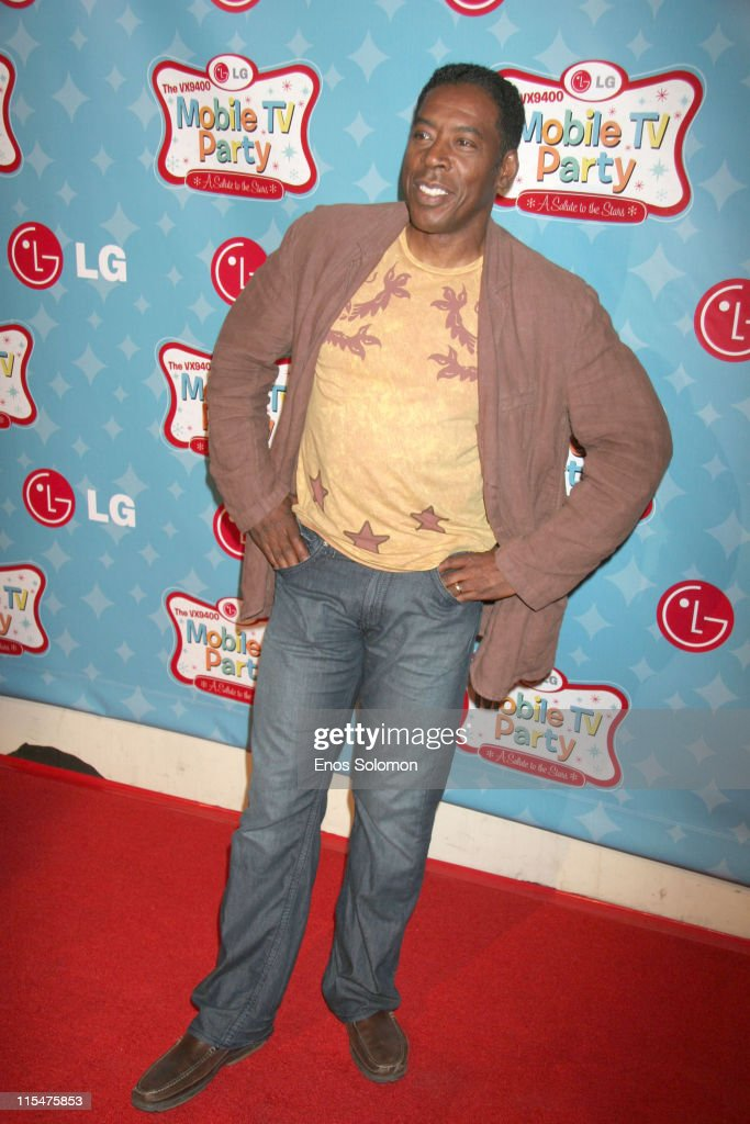 Ernie Hudson during LG Mobile TV Party at Stage 14 Paramount Studios in Hollywood CA United States