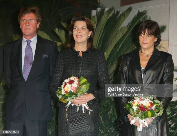 HSH Ernst August of Hanover Princess Caroline of Hanover and Princess Stephanie of Monaco