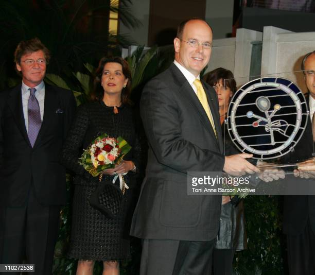 HSH Ernst August of Hanover Princess Caroline of Hanover HSH Prince Albert II of Monaco and Princess Stephanie of Monaco