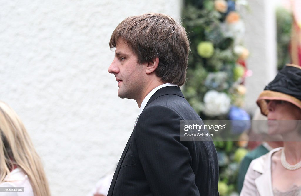 Wedding Of Maria Theresia Princess von Thurn und Taxis And Hugo Wilson