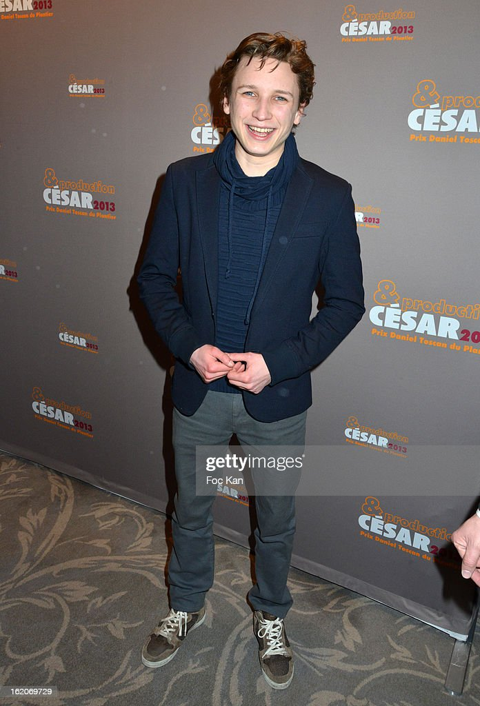 Ernst Umhauer attends the Producer's Dinner - Cesar Film Awards 2013 at Georges V on February 18, 2013 in Paris, France.
