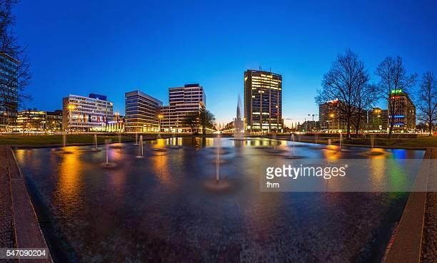 Ernst-Reuter-Platz, town square in Charlottenburg, Berlin, Germany.