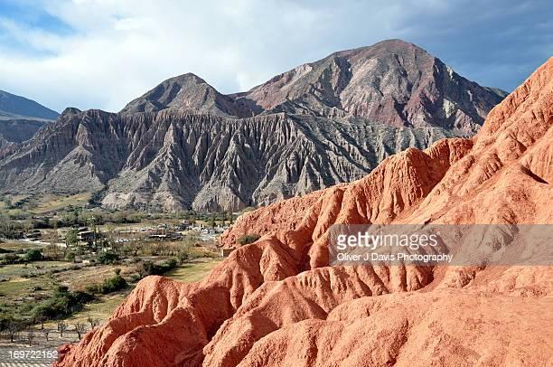 Eroded Mountain Range in Salta Province