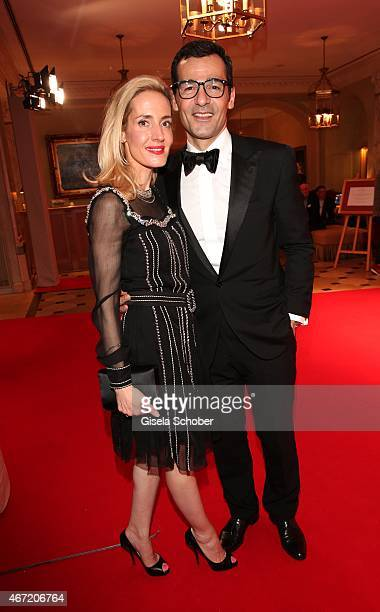 Erol Sander and his wife Caroline during the Gala Spa Awards 2015 at Brenners ParkHotel Spa on March 21 2015 in BadenBaden Germany