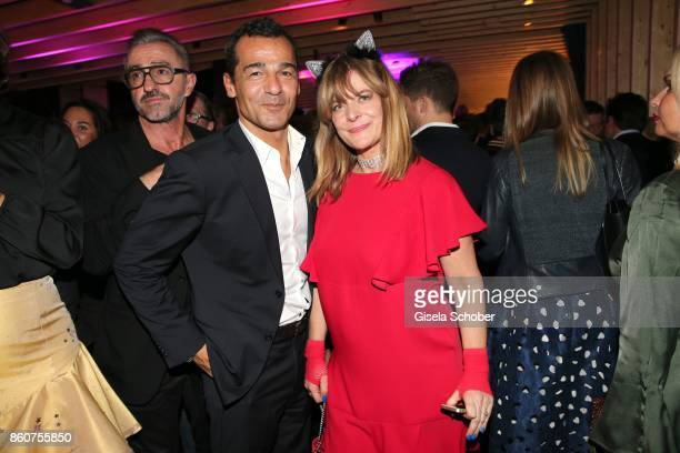Erol Sander and Nastassja Kinski during the grand opening of Roomers IZAKAYA on October 12 2017 in Munich Germany