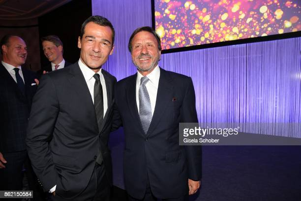 Erol Sander and Sir Rocco Forte during the 2oth 'Busche Gala' at The Charles Hotel on October 16 2017 in Munich Germany