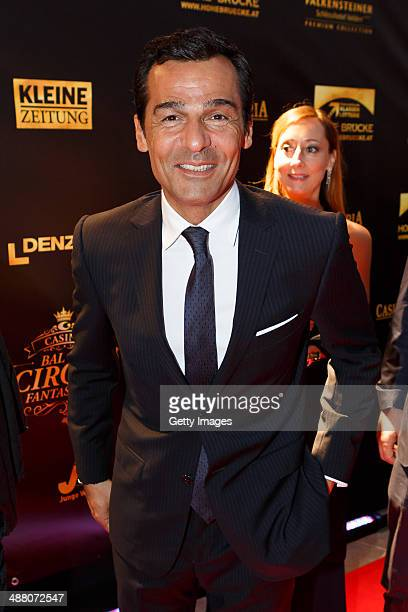 Erol Sander attends the Bal Du Cirque Fantastique on the occasion of the 25th anniversary of the Casino Velden at Casino Velden on May 3 2014 in...