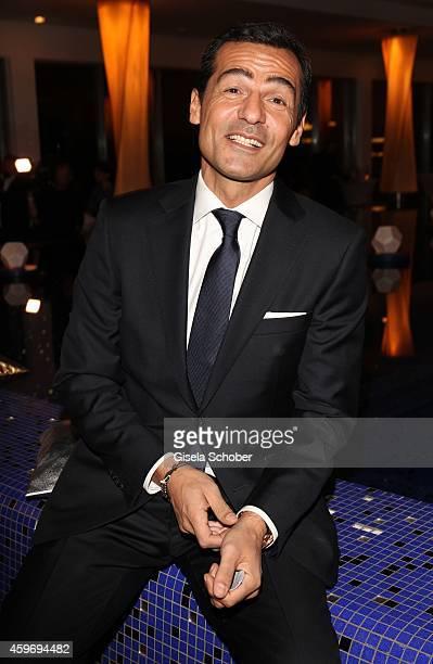 Erol Sander during the ARD advent dinner hosted by the program director of the tv station Erstes Deutsches Fernsehen at Hotel Bayerischer Hof on...