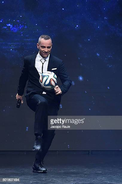 Eros Ramazzotti attends the 'Gazzetta Awards' on December 17 2015 in Milan Italy