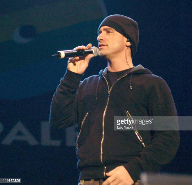 Eros Ramazzotti during Eros Ramazzotti Performs During 'Los 40 Principales Solidarios' Concert for Children With Cancer at 'Principe Felipe'...