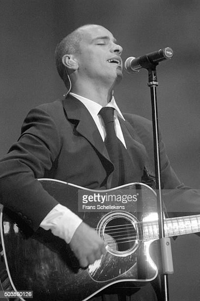 Eros Ramazzotti guitar and vocals performs at Amsterdam Arena on August 25th 1996 in Amsterdam the Netherlands
