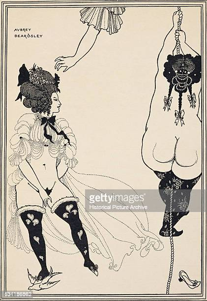 Erotic Illustration of Women by Aubrey Beardsley