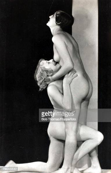 nude woman musterbating passionately