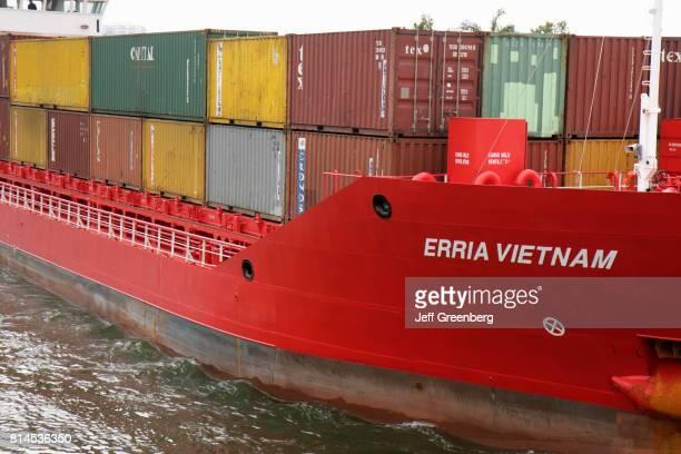 Erria Vietnam boat on the Miami River