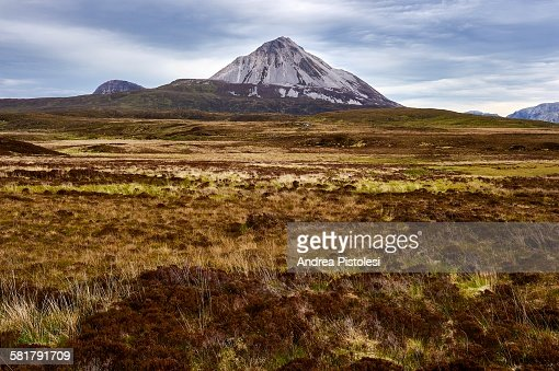 Errigal Mountain, Donegal, Ireland