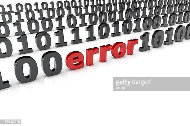 Error in a binary code