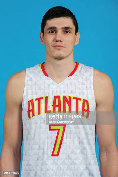 Ersan Ilyasova of the Atlanta Hawks poses for a head shot on March 15 2017 at Philips Arena in Atlanta Georgia NOTE TO USER User expressly...