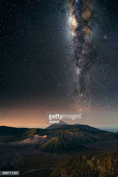 Eruption of Stars, Mt Bromo