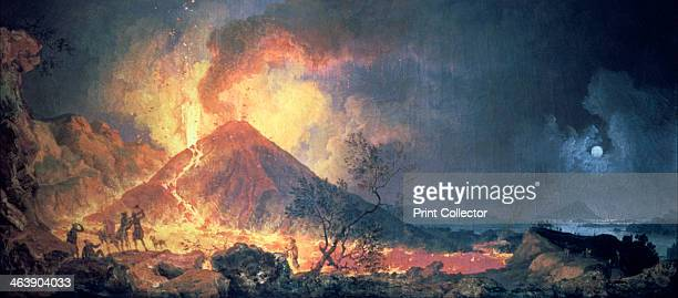 'Eruption of Vesuvius' 1770s Vesuvius the volcano most famous for its eruption of 79 AD which destroyed Pompeii erupted several times in the 1770s...