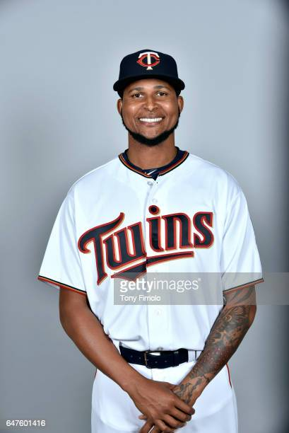 Ervin Santana of the Minnesota Twins poses during Photo Day on Thursday February 23 2017 at Hammond Stadium in Fort Myers Florida