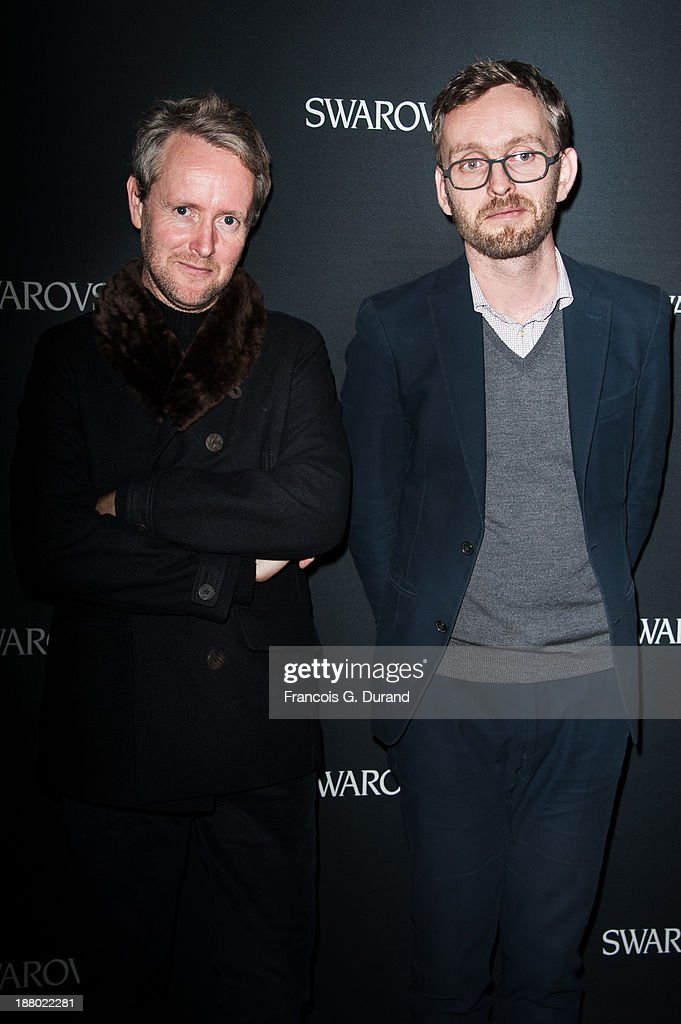 Erwan Bouroullec and Ronan Bouroullec attend the Swarovski Dinner In Honor of the Bouroullec Brothers at Chateau de Versailles on November 14, 2013 in Versailles, France.