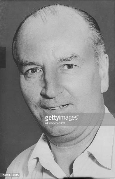 Erwin KellerSportler Hockeyspieler DPorträt 1958