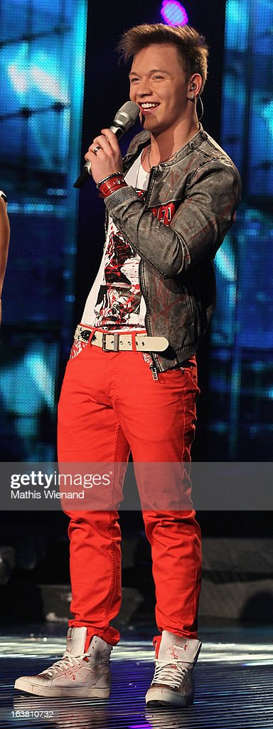 Erwin Kintop attends the Rehearsal of 1st DSDS Show at Coloneum on March 16, 2013 in Cologne, Germany.