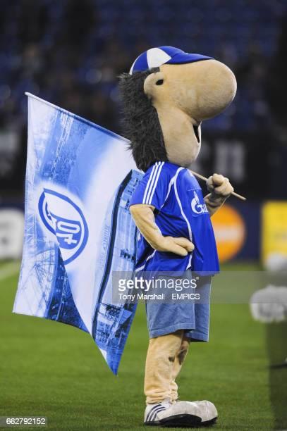 Erwin mascot of Schalke 04
