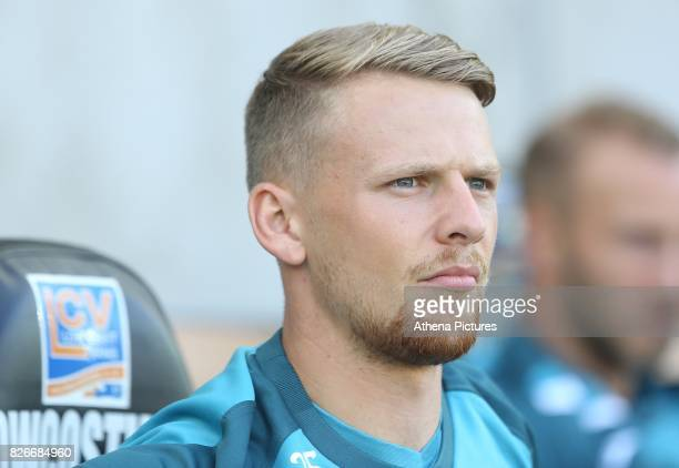 Erwin Mulder of Swansea City during the preseason friendly match between Swansea City and Sampdoria at The Liberty Stadium on August 5 2017 in...