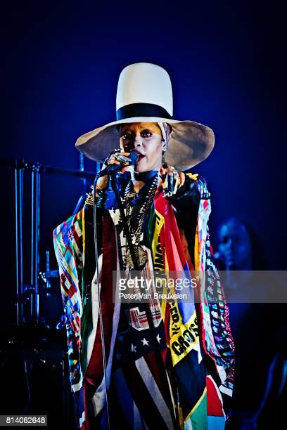 Erykah Badu Performs at North Sea Jazz Festival on July 9th 2017 in Rotterdam The Netherlands