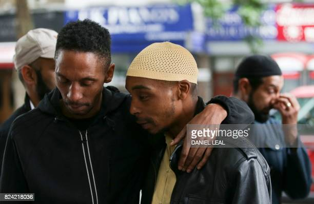 Esa the father of Rashan Charles whose death after being followed by police into a convenience store and allegedly apprehended has caused anger in...