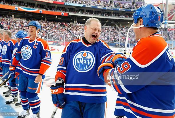 2016 Tim Hortons NHL Heritage Classic - Alumni Game · Esa Tikkanen ... Edmonton  Oilers 88-89 jersey Third String Goalie ... 3a706e203