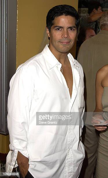 Esai Morales during 'Reign of Fire' Premiere at Mann's Village in Westwood California United States