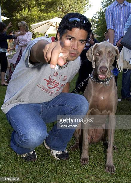 "Esai Morales during 'Silver Spoon Dog and Baby Buffet"" Benefitting Much Love Animal Rescue Day One at Private Residence in Beverly Hills California..."