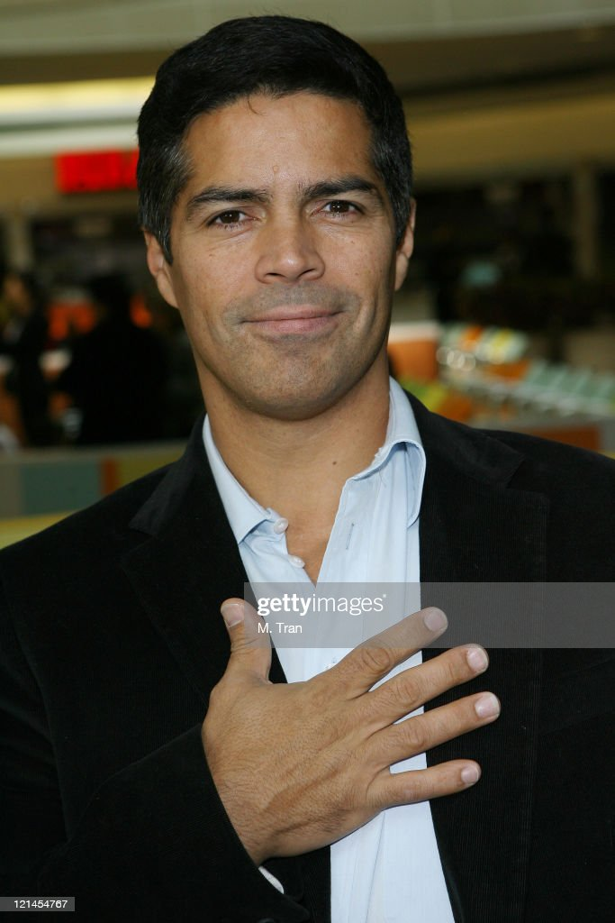 Esai Morales during The Screen Actors Guild Foundation and Zimand Entertianment Host Los Angeles Children's Love Equals Writing Contest at Beverly Center in Los Angeles, California, United States.