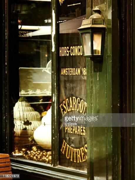 Escargot Restaurant Paris France
