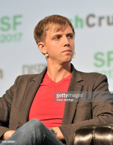 Escher Reality CEO Ross Finman speaks onstage during TechCrunch Disrupt SF 2017 at Pier 48 on September 18 2017 in San Francisco California