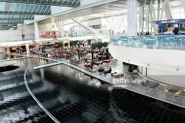 Esenboga Airport food court in Ankara