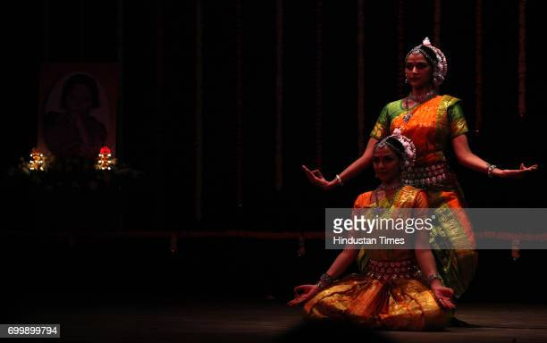 Esha and Ahana Deol performance Odissi at Jaya Smirti organized by Hema Malini at Ravindra Natya Mandir in Mumbai on Saturday