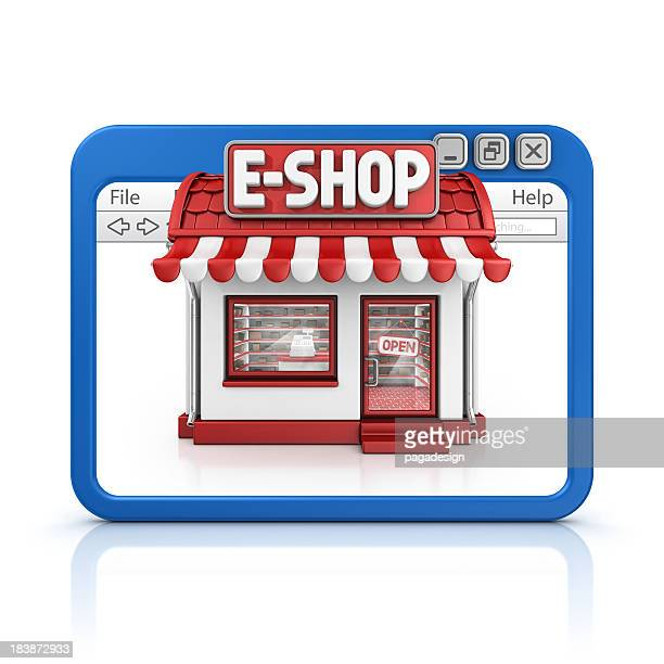 e-shop in browser