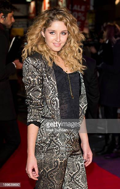 Esmee Denters attends the UK Premiere of 'Flight' at The Empire Cinema on January 17 2013 in London England