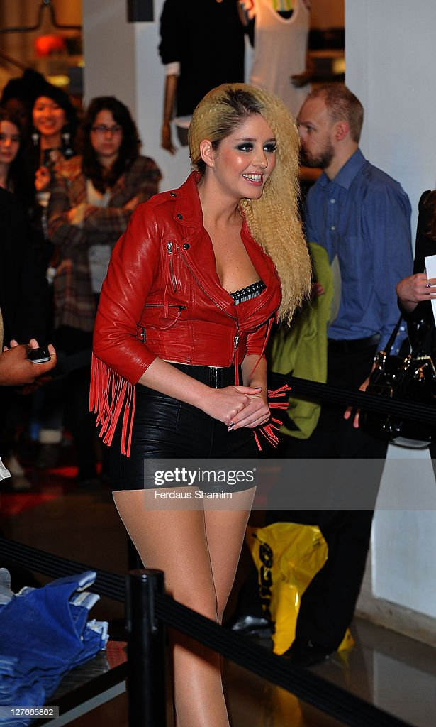 Esmee Denters launches b.tempt'd lingerie at Selfridges on March 30, 2011 in London, England.
