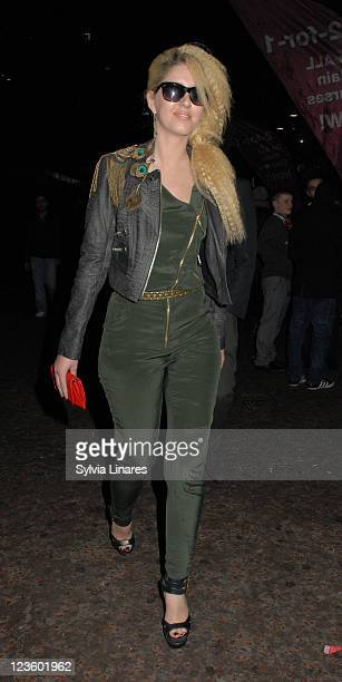 Esmee Denters leaving the Empire Leicester Square Cinema on March 15 2011 in London England