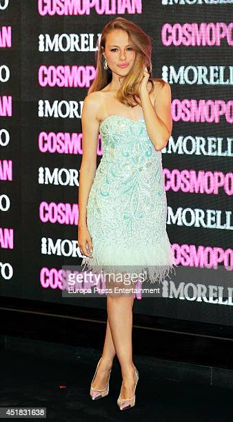 Esmeralda Moya attends the Cosmopolitan Beauty Awards on July 7 2014 in Madrid Spain