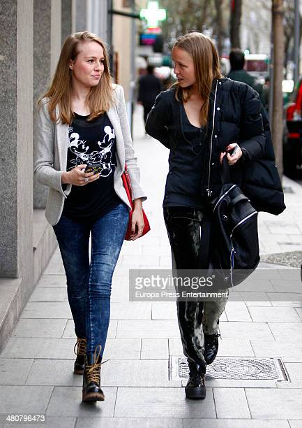 Esmeralda Moya is seen on March 26 2014 in Madrid Spain