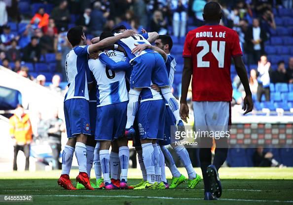 RCD Espanyol and Osasuna - Spanish League : News Photo