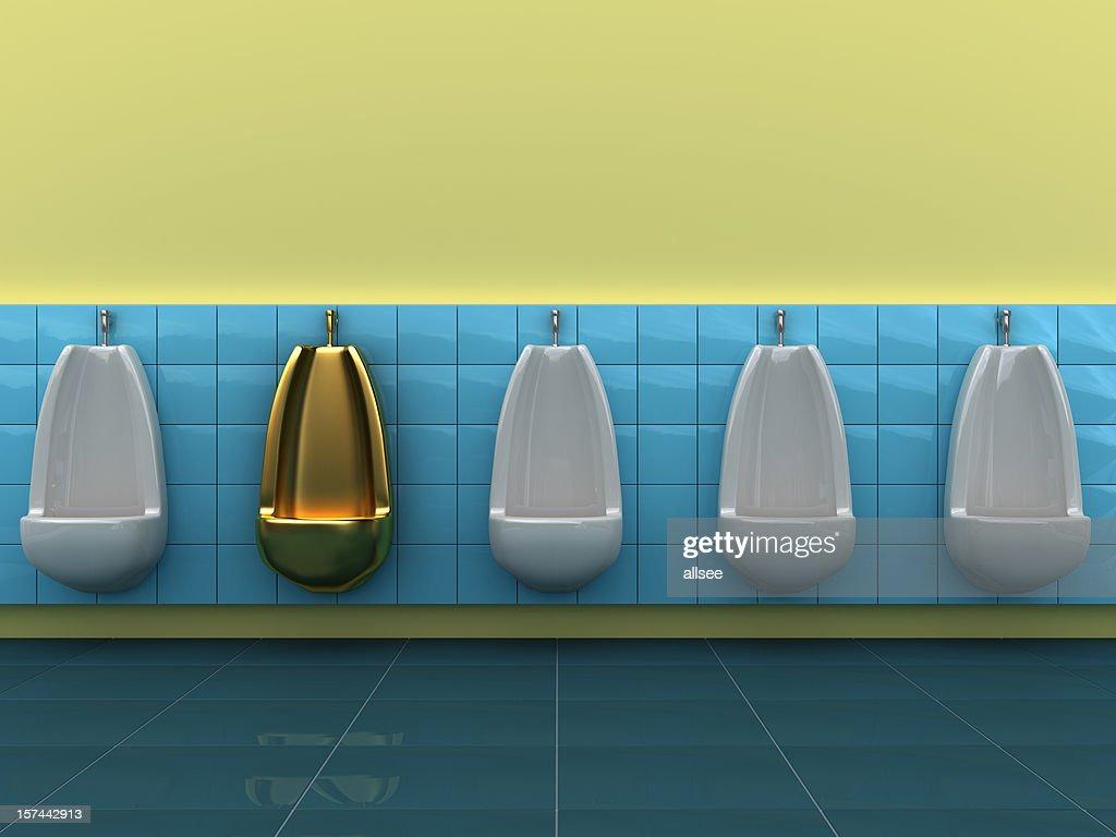 Especial gold urinal