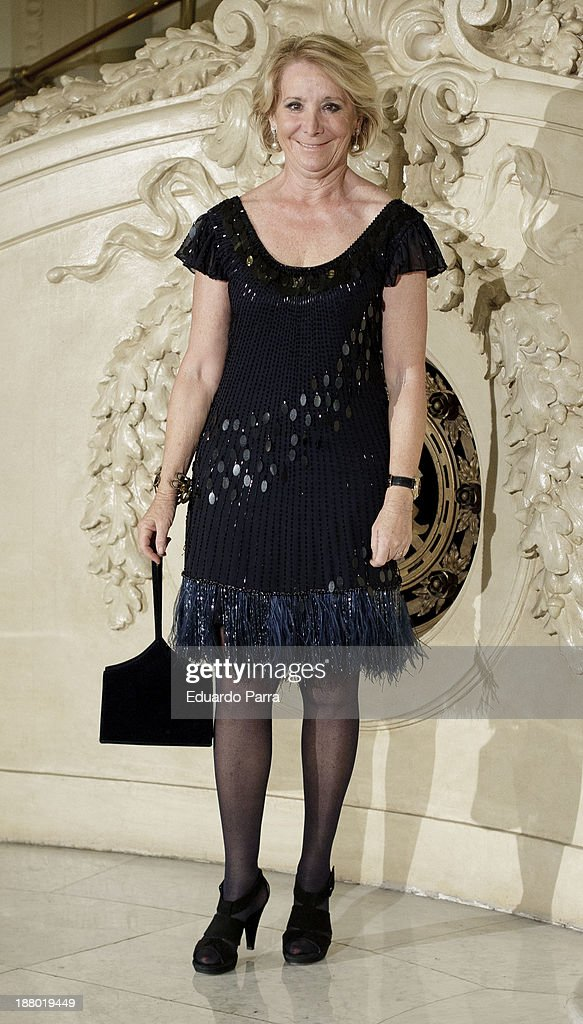 <a gi-track='captionPersonalityLinkClicked' href=/galleries/search?phrase=Esperanza+Aguirre&family=editorial&specificpeople=855240 ng-click='$event.stopPropagation()'>Esperanza Aguirre</a> attends the Ralph Lauren Dinner Charity Gala at the Casino de Madrid on November 14, 2013 in Madrid, Spain.