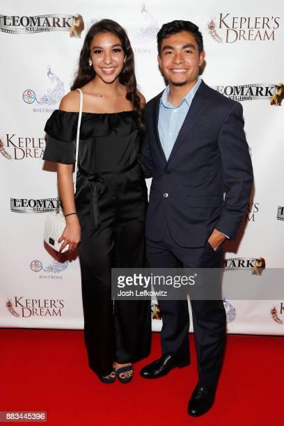 Esperanza Fermin and Jimmy Fermin attend the premiere screening of 'Kepler's Dream' at Regency Plant 16 on November 30 2017 in Van Nuys California