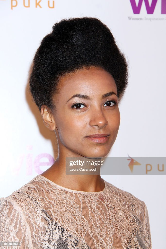 <a gi-track='captionPersonalityLinkClicked' href=/galleries/search?phrase=Esperanza+Spalding&family=editorial&specificpeople=4151466 ng-click='$event.stopPropagation()'>Esperanza Spalding</a> attends day 2 of the 4th Annual WIE Symposium at Center 548 on September 21, 2013 in New York City.